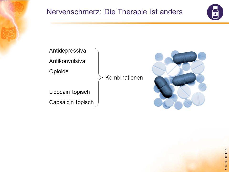 Nervenschmerz: Die Therapie ist anders