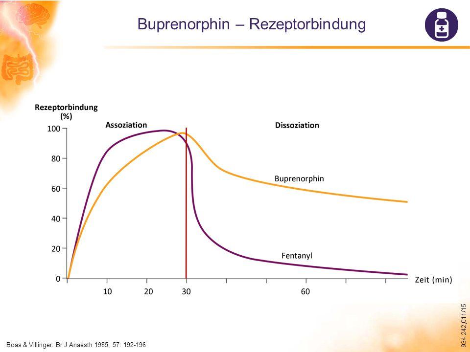 Buprenorphin – Rezeptorbindung
