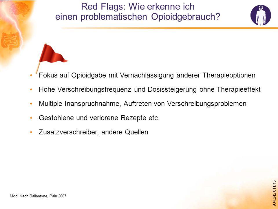 Red Flags: Wie erkenne ich einen problematischen Opioidgebrauch