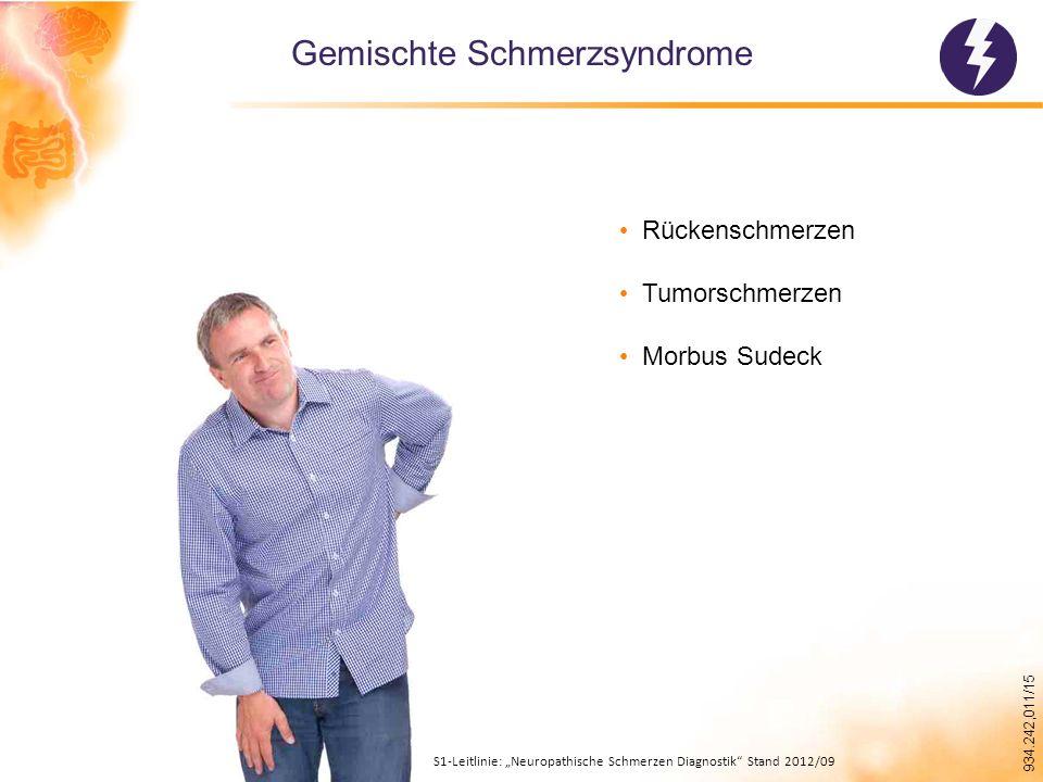 Gemischte Schmerzsyndrome