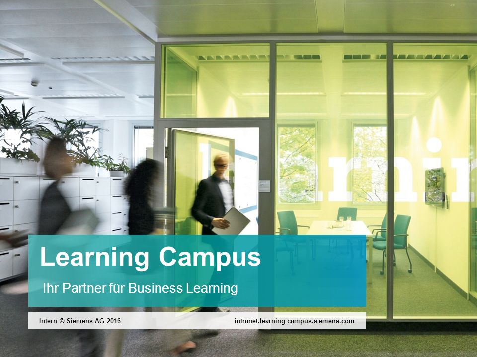 Learning Campus Ihr Partner für Business Learning