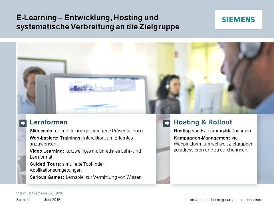 E-Learning – Entwicklung, Hosting und systematische Verbreitung an die Zielgruppe