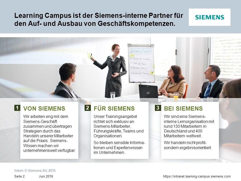 Learning Campus ist der Siemens-interne Partner für den Auf- und Ausbau von Geschäftskompetenzen.