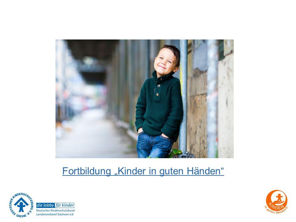 """Fortbildung """"Kinder in guten Händen"""