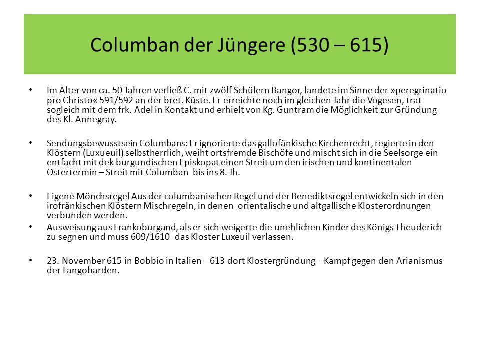 Columban der Jüngere (530 – 615)