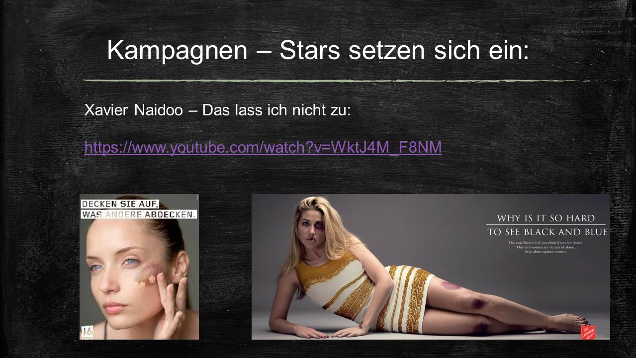 Kampagnen – Stars setzen sich ein: