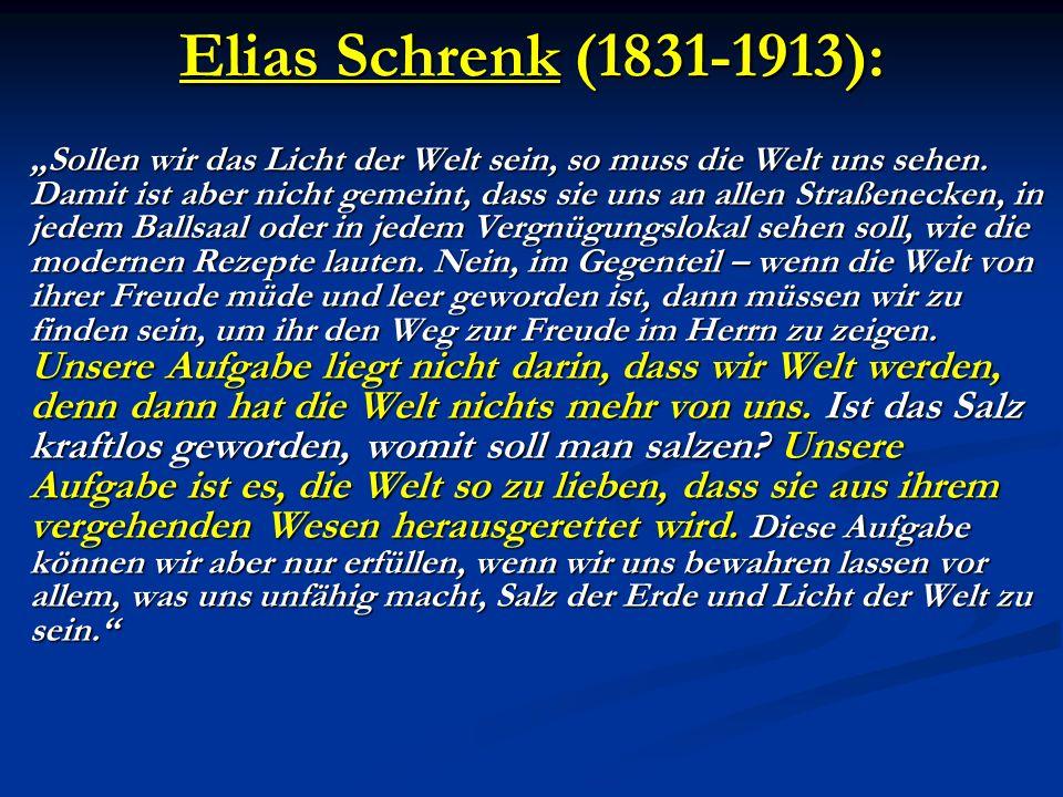 Elias Schrenk (1831-1913):