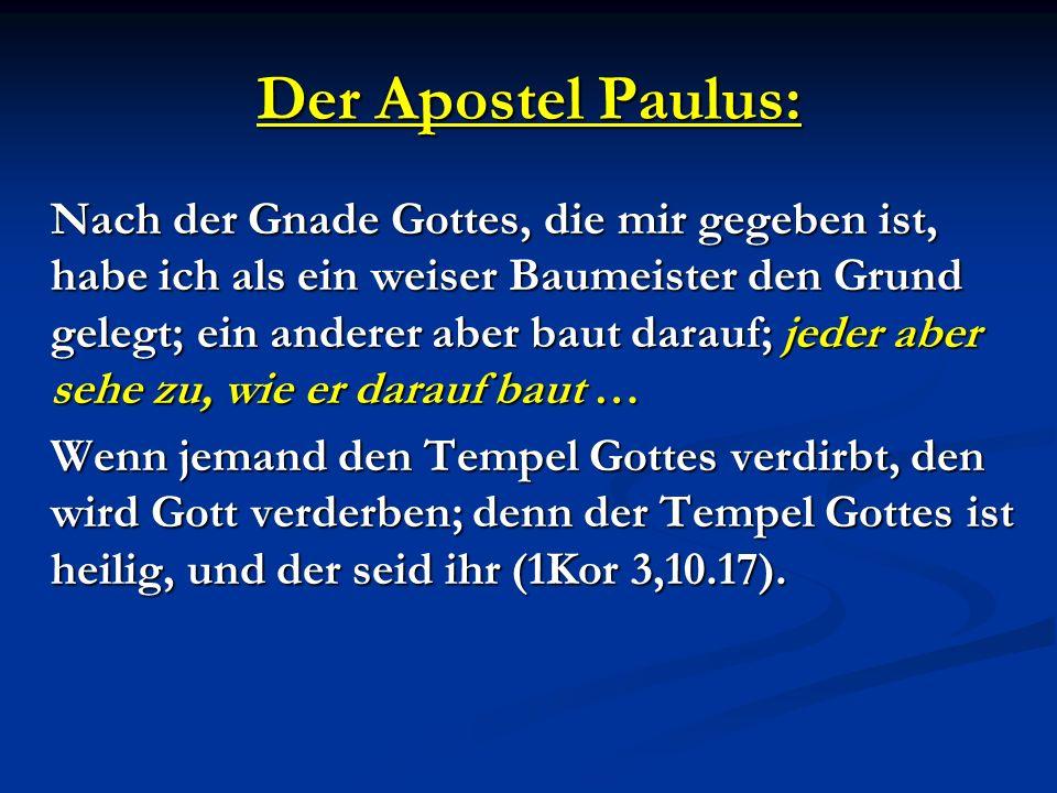 Der Apostel Paulus: