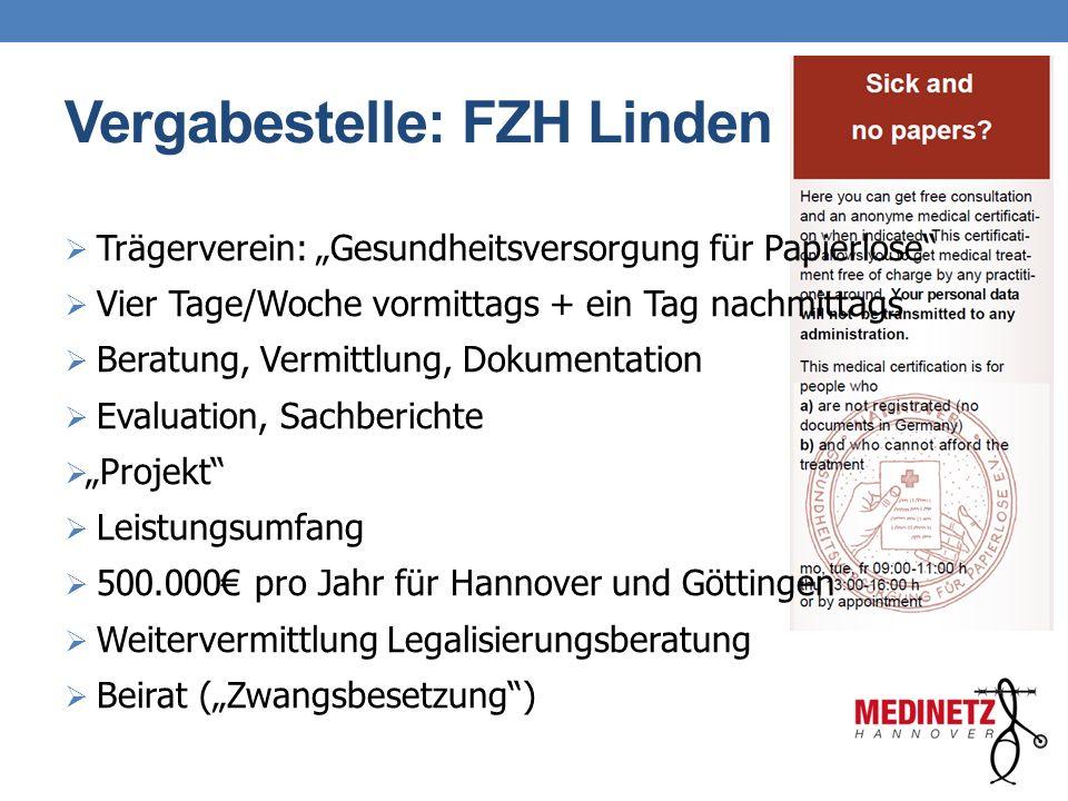 Vergabestelle: FZH Linden
