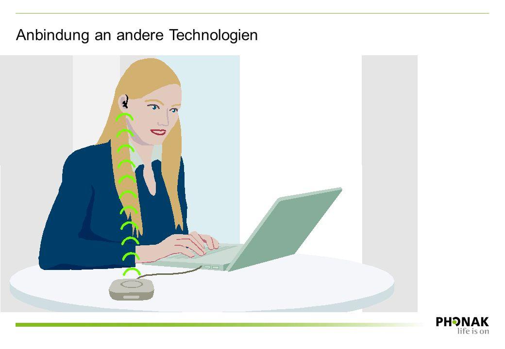 Anbindung an andere Technologien