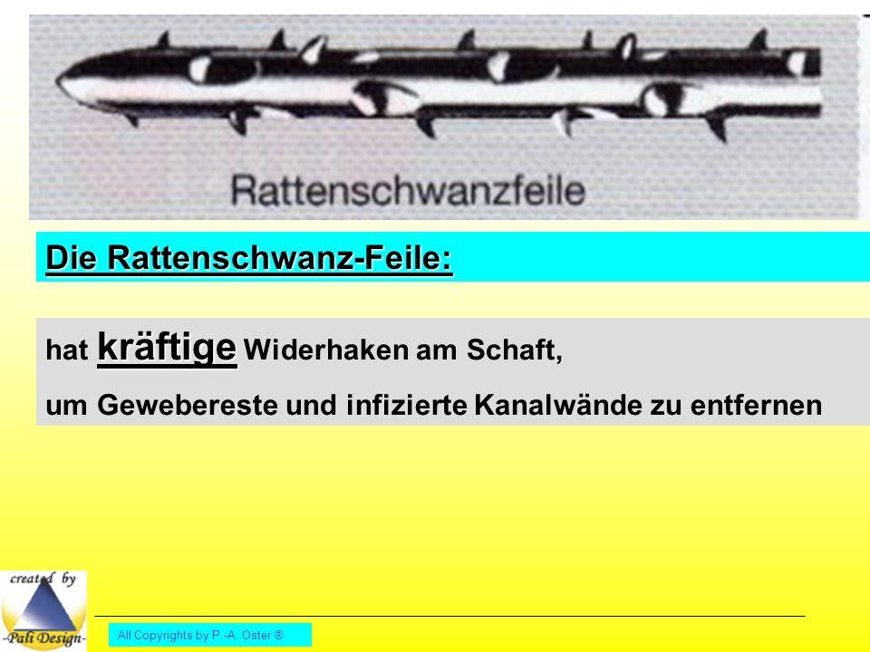 Die Rattenschwanz-Feile: