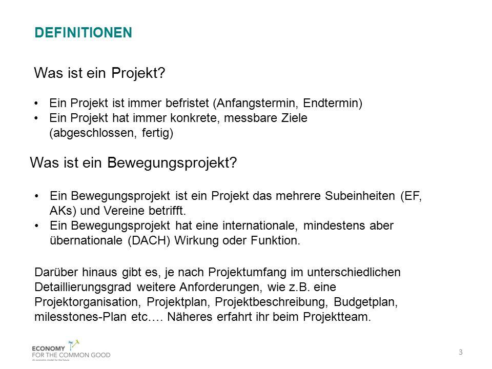 Was ist ein Bewegungsprojekt