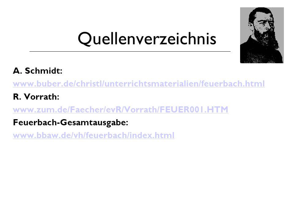 Quellenverzeichnis A. Schmidt: