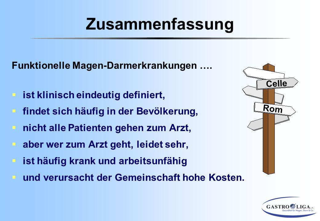 Zusammenfassung Funktionelle Magen-Darmerkrankungen ….