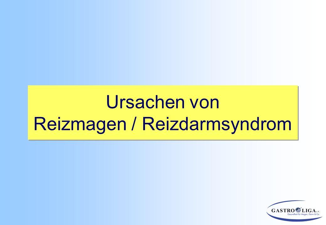 Reizmagen / Reizdarmsyndrom