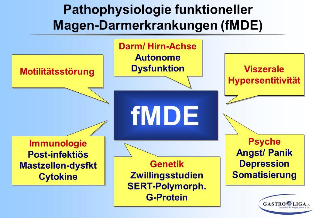 fMDE Pathophysiologie funktioneller Magen-Darmerkrankungen (fMDE)