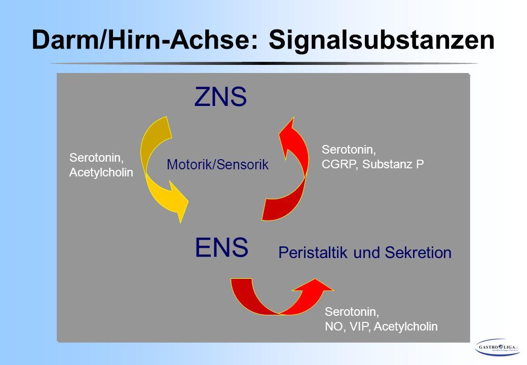 Darm/Hirn-Achse: Signalsubstanzen