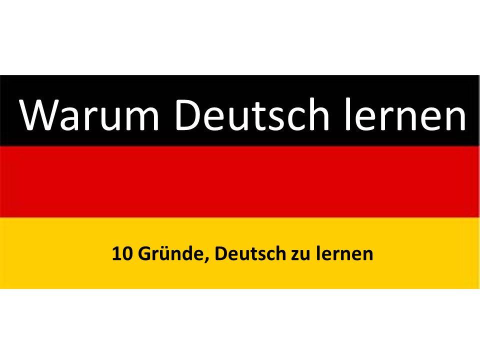 10 Gründe, Deutsch zu lernen