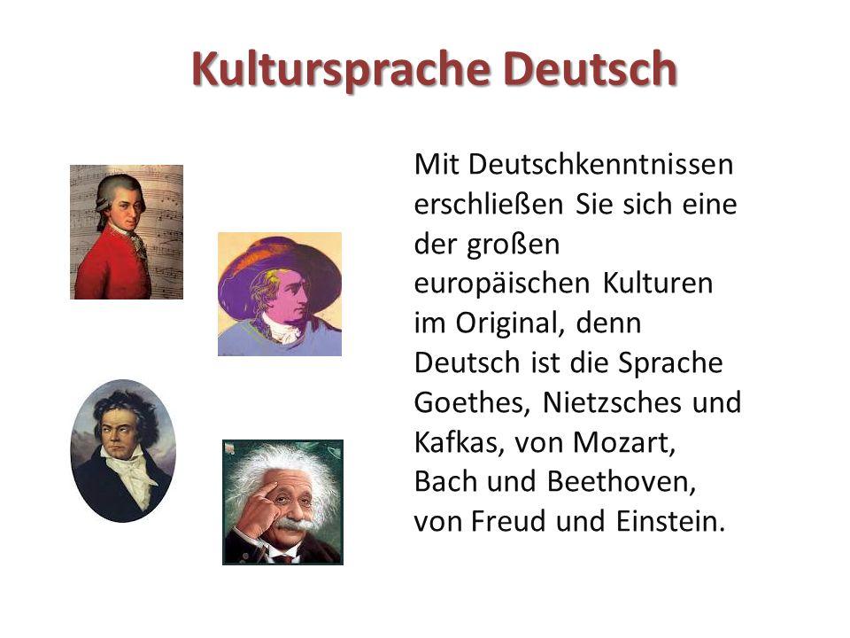Kultursprache Deutsch