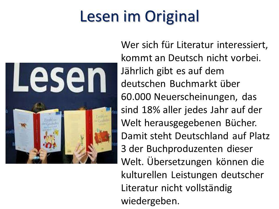 Lesen im Original