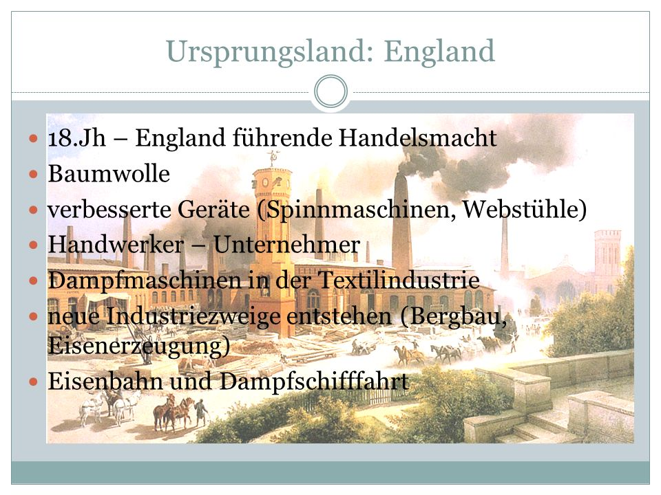 Ursprungsland: England