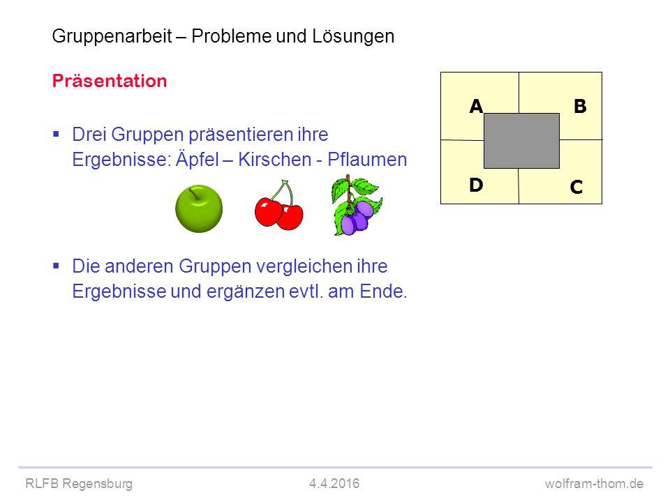 Präsentation Placemat