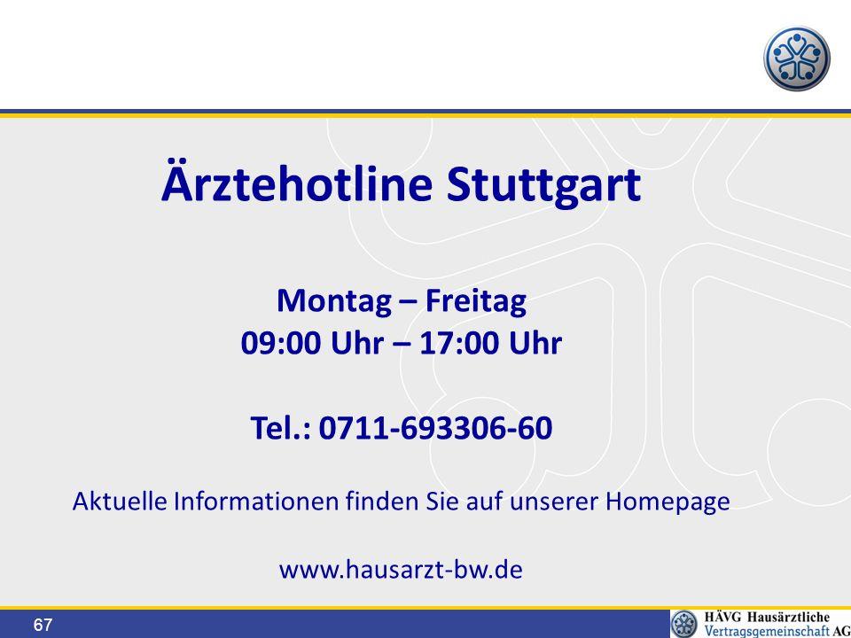 Ärztehotline Stuttgart