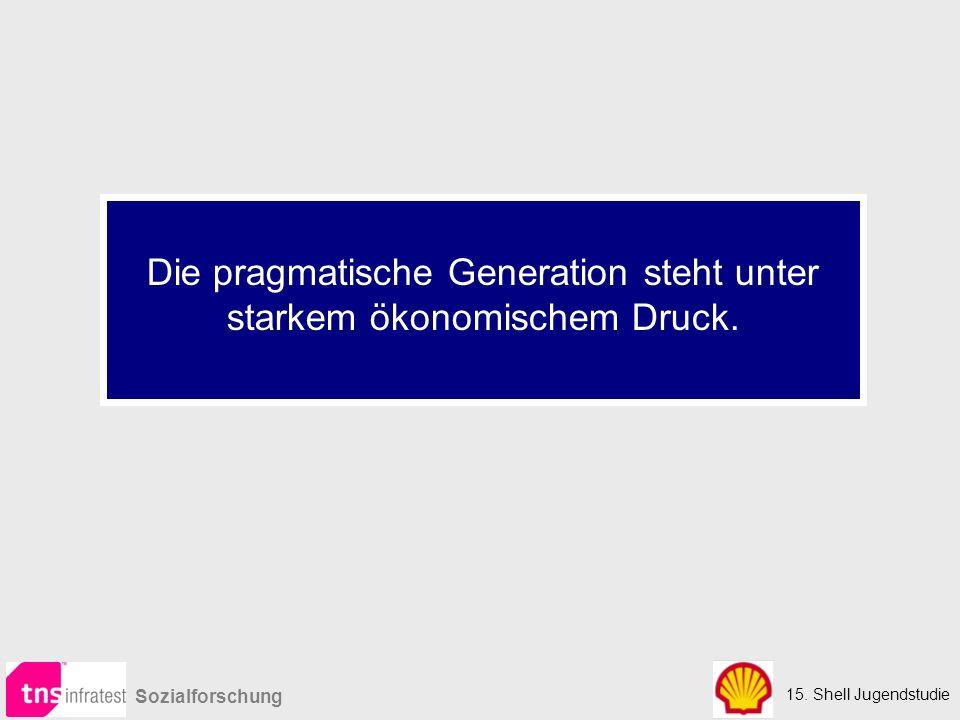 Die pragmatische Generation steht unter starkem ökonomischem Druck.