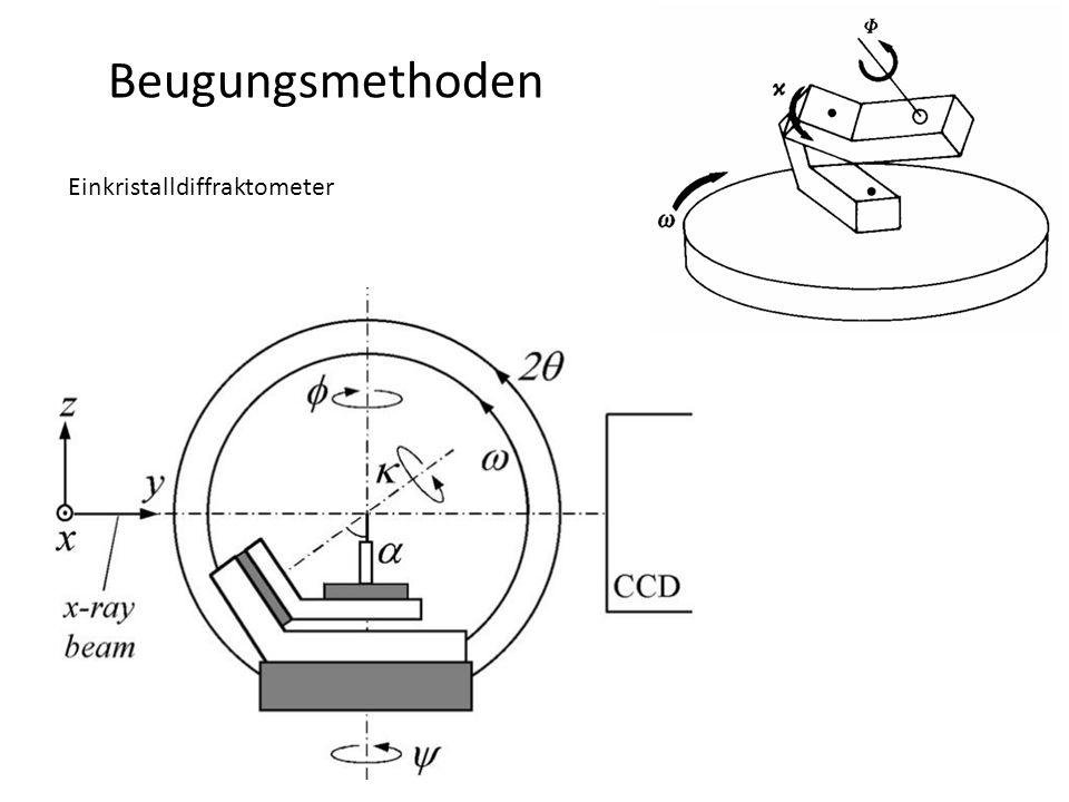 Beugungsmethoden Einkristalldiffraktometer