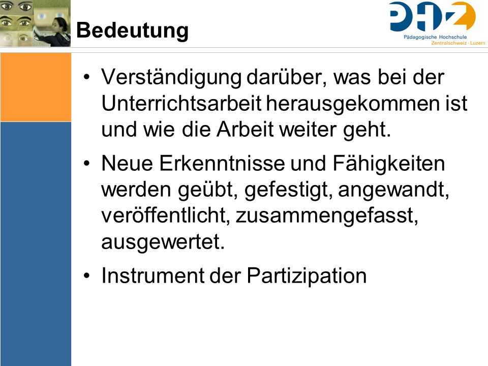 Instrument der Partizipation