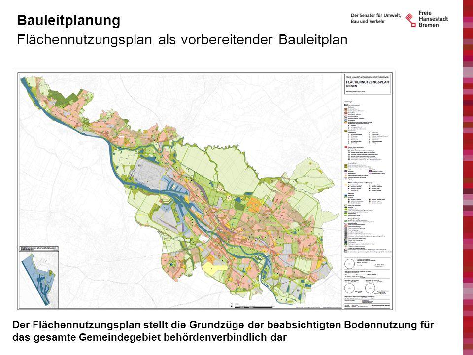 Flächennutzungsplan als vorbereitender Bauleitplan