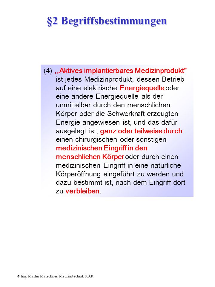 §2 Begriffsbestimmungen
