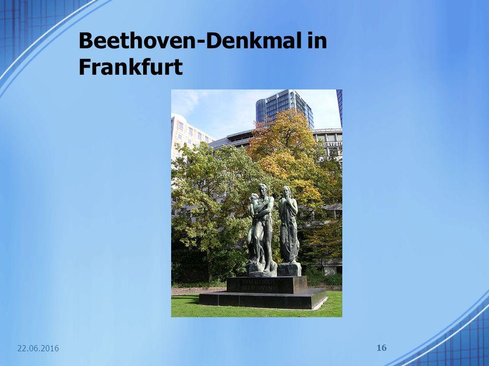 Beethoven-Denkmal in Frankfurt