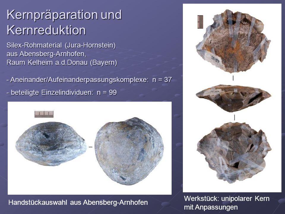 Kernpräparation und Kernreduktion