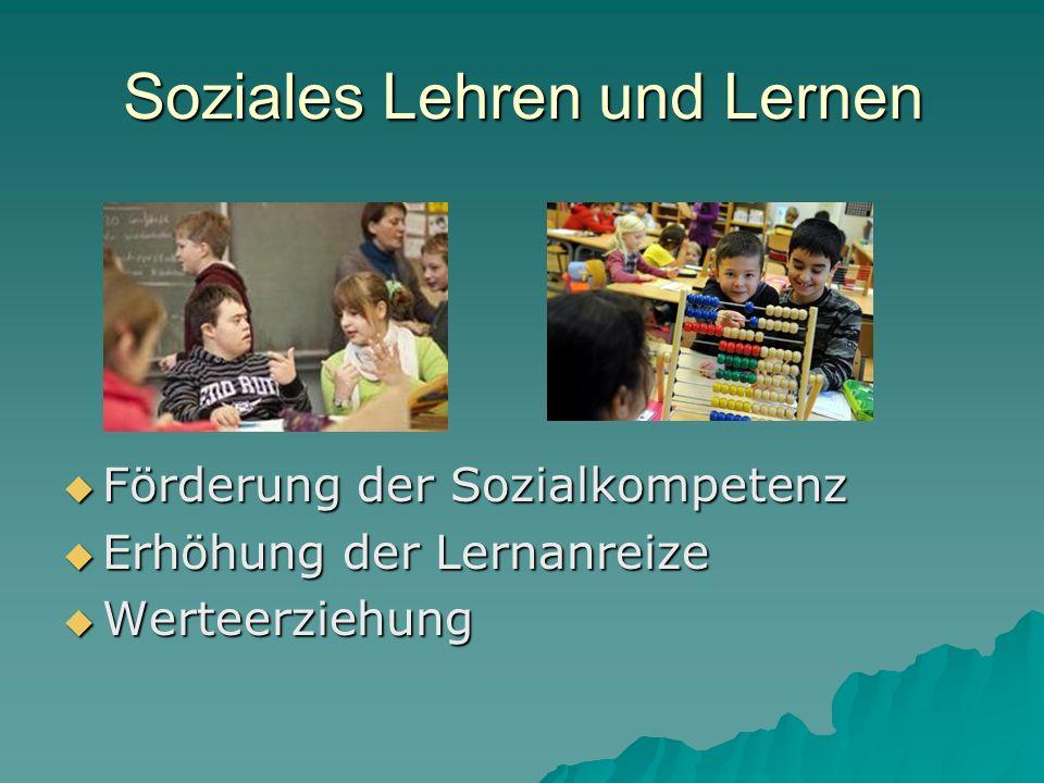 Soziales Lehren und Lernen