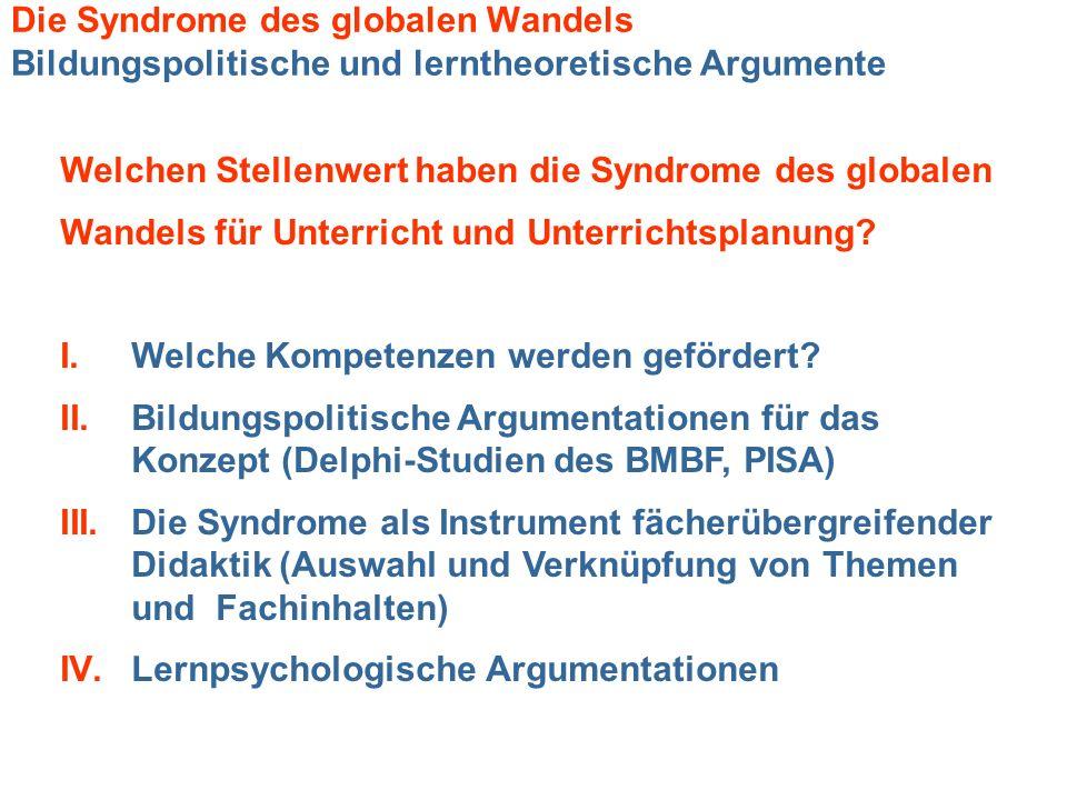 Welchen Stellenwert haben die Syndrome des globalen
