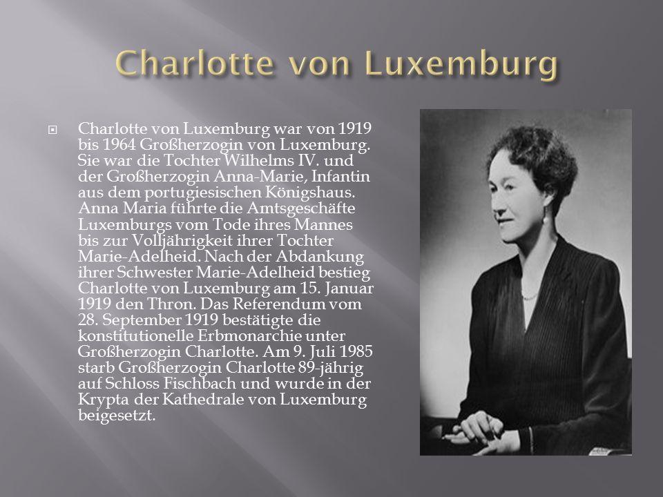 Charlotte von Luxemburg