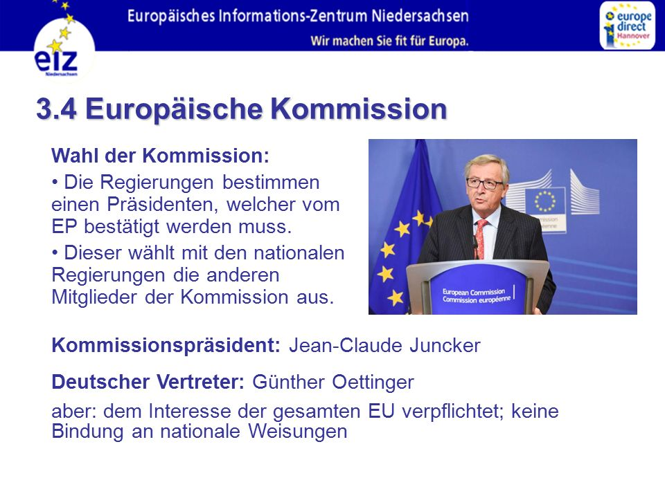 3.4 Europäische Kommission
