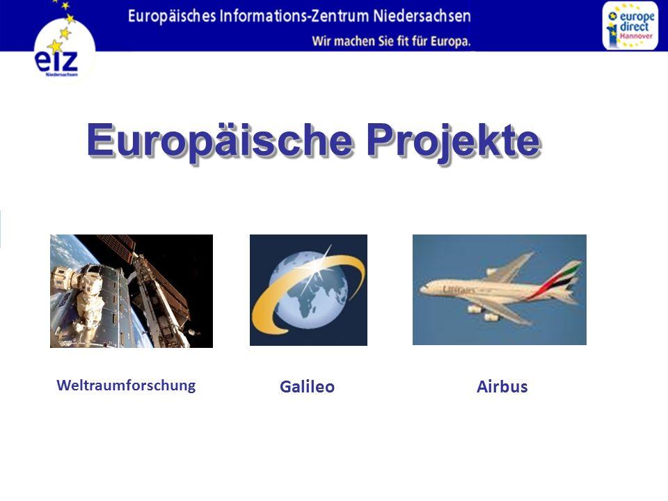 Europäische Projekte Weltraumforschung Galileo Airbus 41 41
