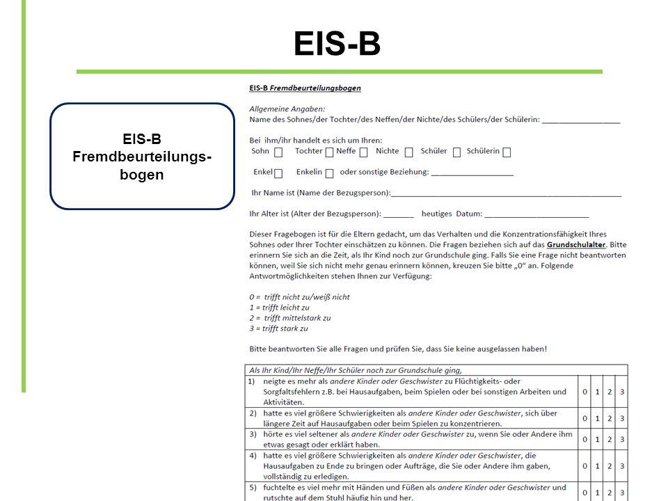EIS-B Fremdbeurteilungs-bogen