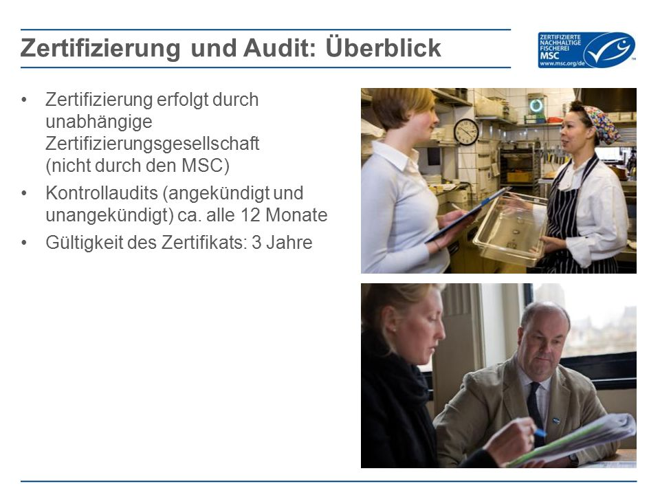 Zertifizierung und Audit: Überblick