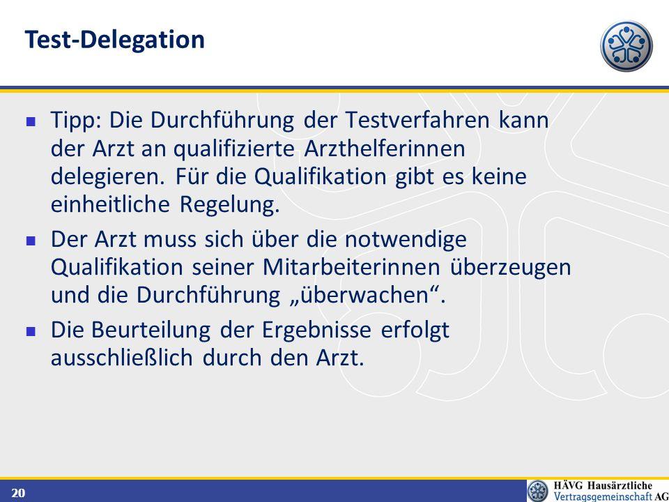 Test-Delegation