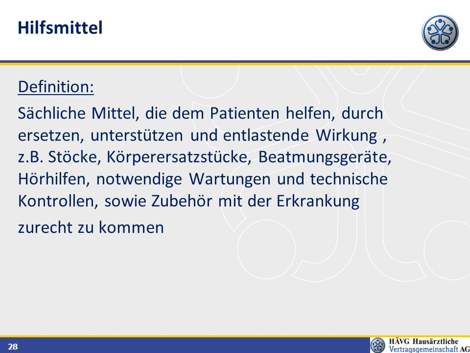 Hilfsmittel Definition: