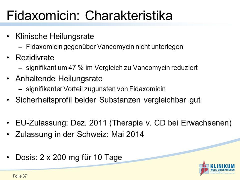 Fidaxomicin: Charakteristika