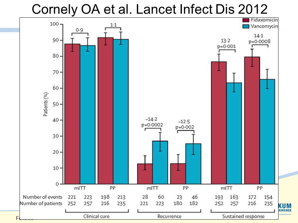Cornely OA et al. Lancet Infect Dis 2012