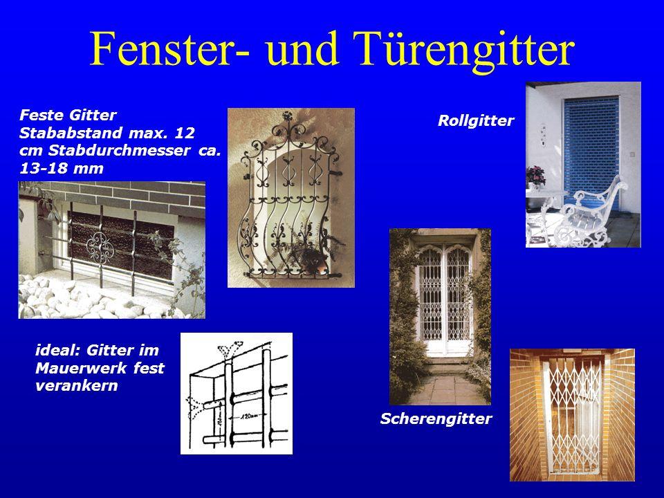 Fenster- und Türengitter