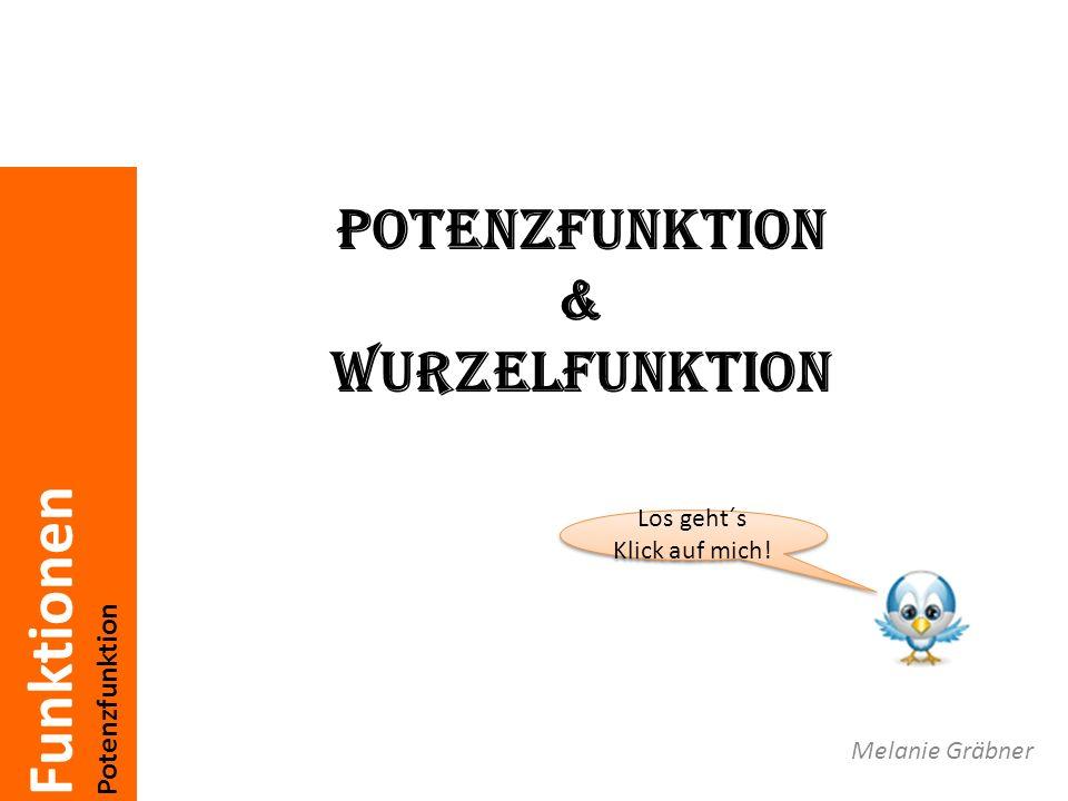 Potenzfunktion & Wurzelfunktion