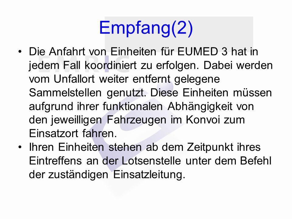 Empfang(2)