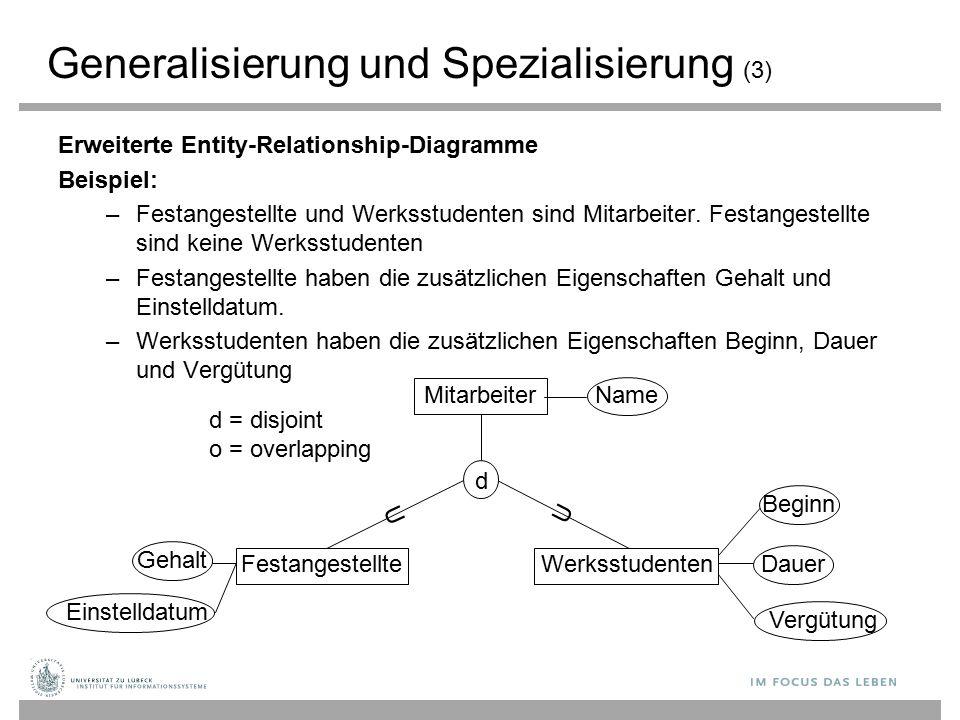 Generalisierung und Spezialisierung (3)