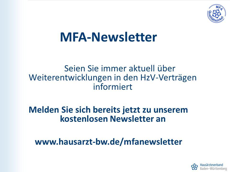 Melden Sie sich bereits jetzt zu unserem kostenlosen Newsletter an